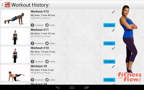 Fitness Flow FREE - screenshot thumbnail