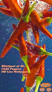 Whirlpool of Chilli Peppers 3D - náhled