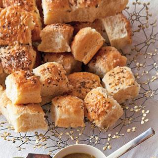 Potato Rolls with Caraway Salt