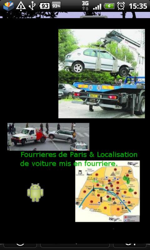 Fourrieres de Paris- screenshot