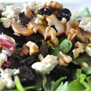 Chicken, Cherry and Walnut Salad.