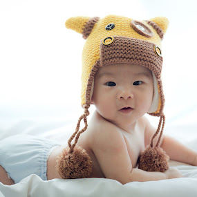4 mth Baby Tian Tian by Vcy Ho - Babies & Children Child Portraits