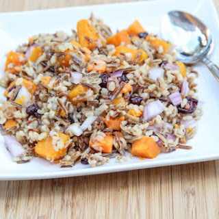 Butternut Cranberry Rice Pilaf