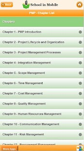 PMP Certification Exam prep - screenshot thumbnail