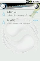 Screenshot of Easy SMS Taichi theme