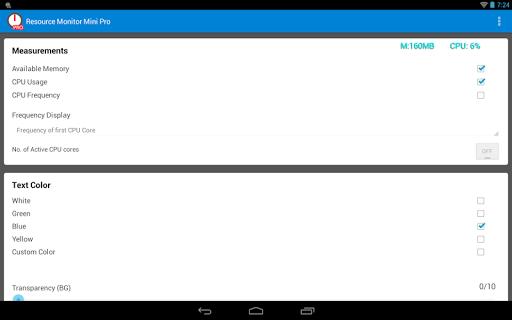 Resource Monitor Mini Pro  screenshots 11