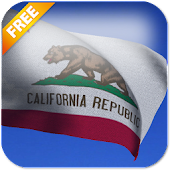 California Flag LWP Free