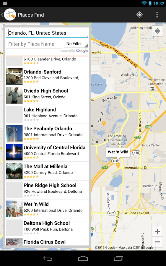 myTrip - Travel Organizer - screenshot