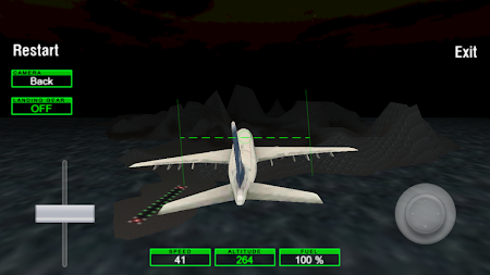 Airplane Night Flight Time Sim 1 screenshot 88015