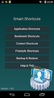 Screenshot of Smart Shortcuts