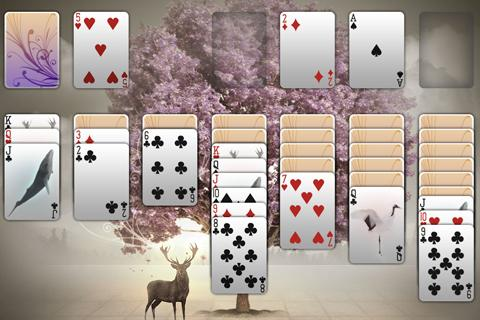 8x1 Solitaire - screenshot