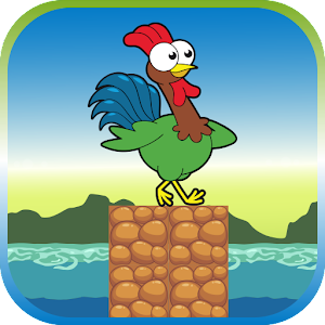 Chicken Brave Jump for PC and MAC
