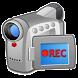 ウバ 無音 ビデオカメラ Pro (ウィジェット機能有り)