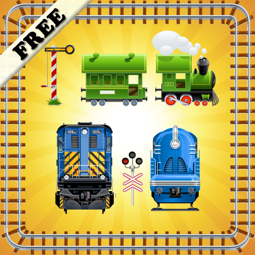 玩具火車  幼兒拼圖 LOGO-APP點子