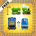 Toy Train Puzzles for Toddlers icon