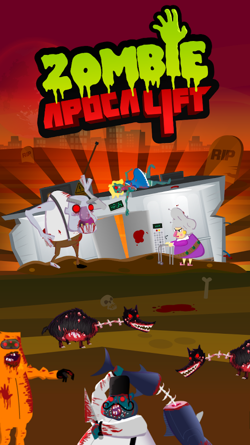 Zombie Apocalift - screenshot