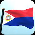 Sint Maarten Flag 3D Free icon