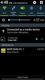 MOR Iloilo 91.1 MHz - screenshot thumbnail