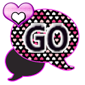 GO SMS THEME/Hearts4U icon