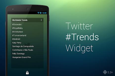 Twitter Trends Widget