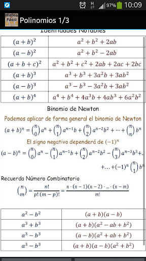 Math Chuletas Números Complejo