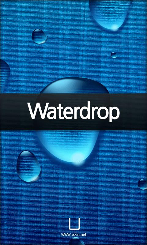 [SSKIN] Liveback_Waterdrop - screenshot