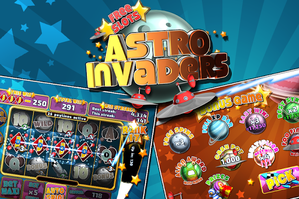 Astro Invaders Slots - screenshot
