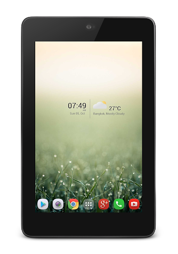 AHL Clock and Weather Widget