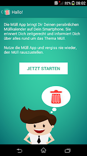Müll App- screenshot thumbnail