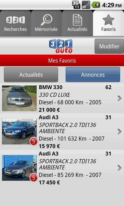 321auto- screenshot