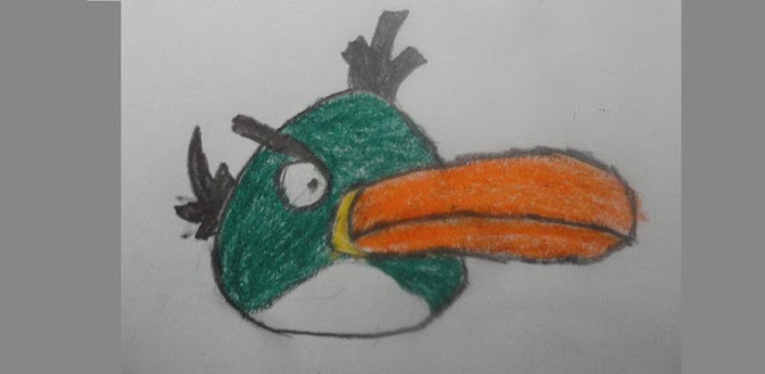 Как рисовать Angry Birds видео