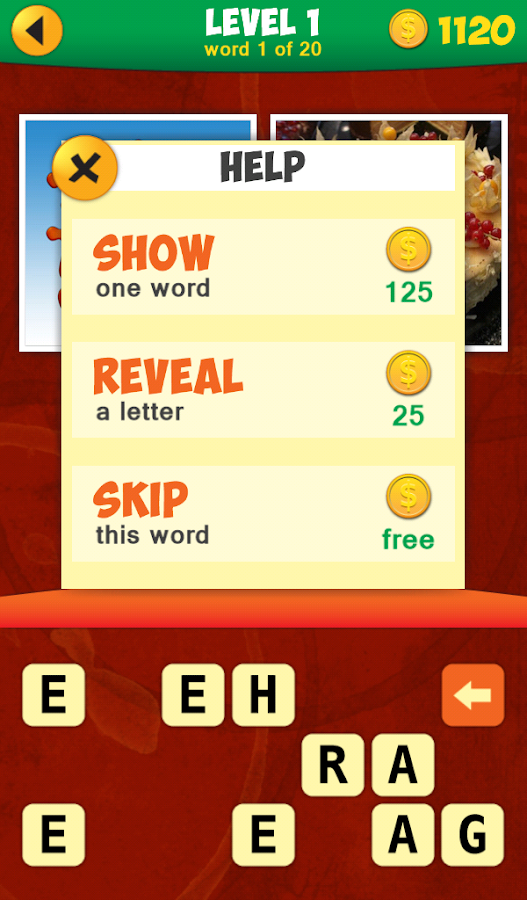 2 Pics 1 Phrase Word Game- screenshot