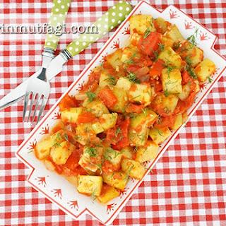 Light Baked Zucchini Dish