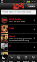 Screenshot of Rock Radio