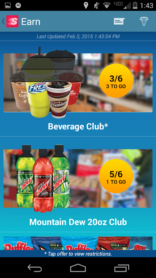 Speedway Fuel & Speedy Rewards - screenshot