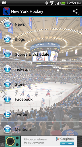 免費運動App|New York Hockey|阿達玩APP