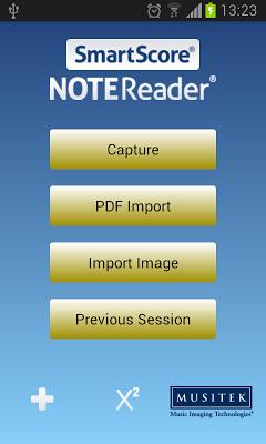 SmartScore NoteReader - screenshot