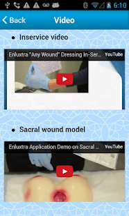 "ENLUXTRA ""ANY Wound"" dressing- screenshot thumbnail"