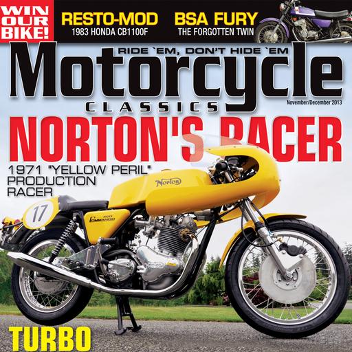 Motorcycle Classics Magazine LOGO-APP點子