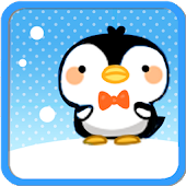 Cute Penguin GO Launcher Theme
