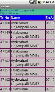 Hyderabad Suburban trains- screenshot thumbnail