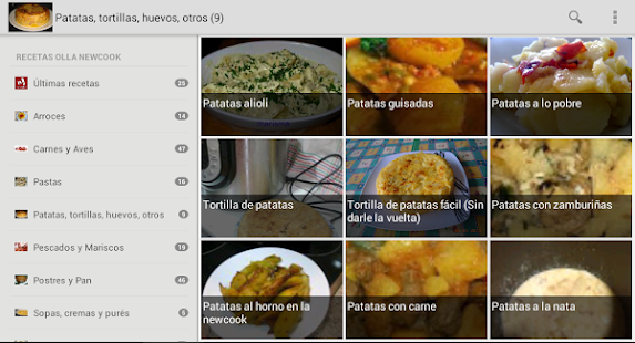 App Recetas ollas programables APK for Windows Phone