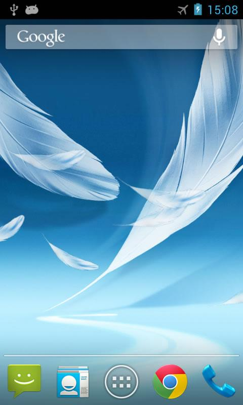 Feather 2 Live Wallpaper- screenshot