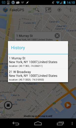 Fake GPS Go Location Spoofer  screenshots 4