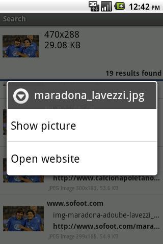 MB Search for TinEye- screenshot
