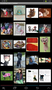 Knitting Patterns Database - screenshot thumbnail