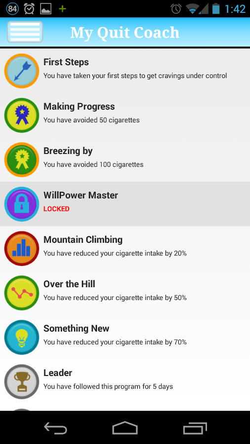 My Quit Coach : Quit Smoking!- screenshot
