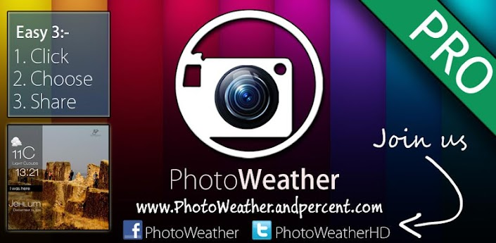 Insta PhotoWeather HD - Pro