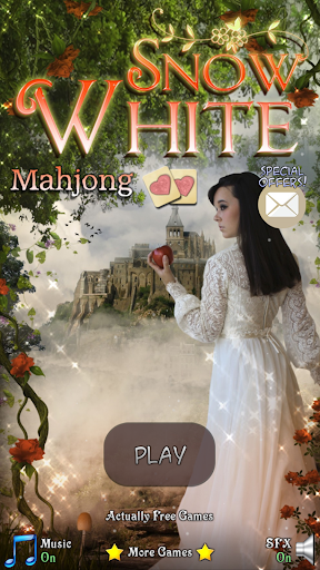 Hidden Mahjong: Snow White