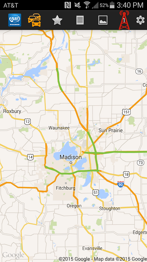 511 Wisconsin Android Apps on Google Play – Wisconsin Travel Conditions Map
